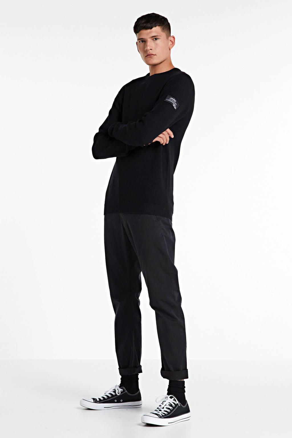 Redefined Rebel trui zwart, Zwart