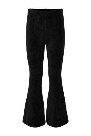 flared broek KONFENJA zwart