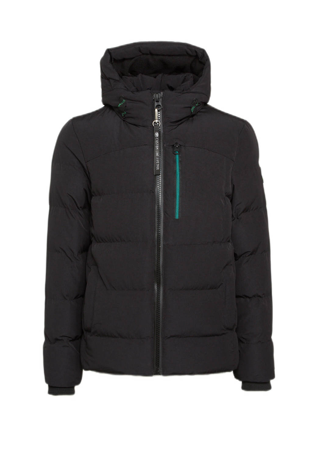 Petrol Industries  winterjas zwart, Zwart