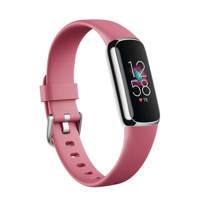 Fitbit Luxe activity tracker (roze), Roze/Platinum