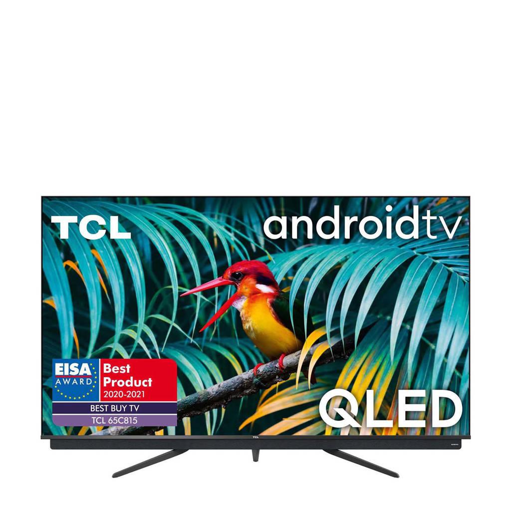 TCL 65C815 4K Ultra HD tv, Zwart
