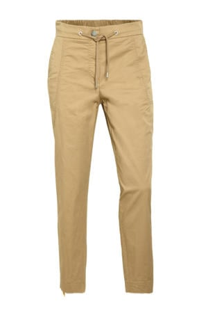 tapered fit chino camel