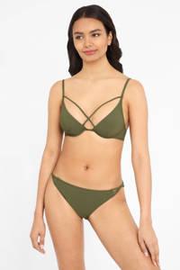 Lascana beugel bikinitop olijfgroen, Olijfgroen