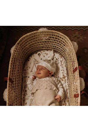 newborn muts Fresh Twigs off white/camel