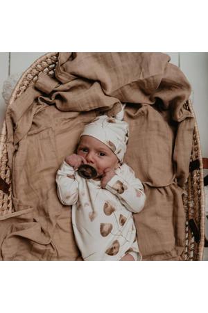 newborn muts Golden Hour off white/lichtbruin/bruin