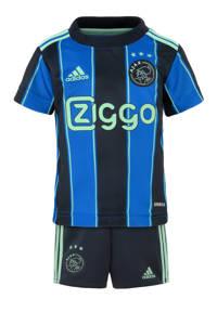 adidas Performance Junior Ajax Amsterdam voetbaltenue uit blauw, Blauw