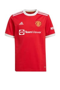 adidas Performance Junior Manchester United voetbalshirt thuis, Rood