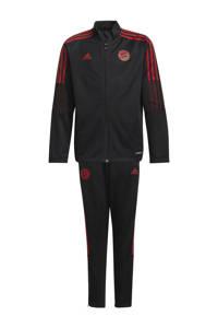 adidas Performance Junior FC Bayern München trainingspak zwart, Zwart