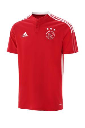 Senior Ajax Amsterdam voetbalpolo training