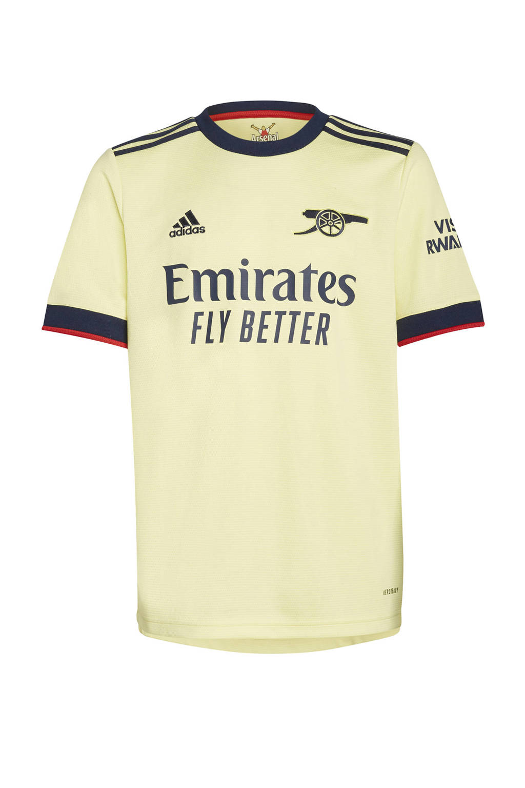 adidas Performance Junior Arsenal FC voetbalshirt uit, Geel