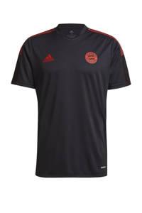 adidas Performance Senior FC Bayern München voetbalshirt training, Donkergrijs