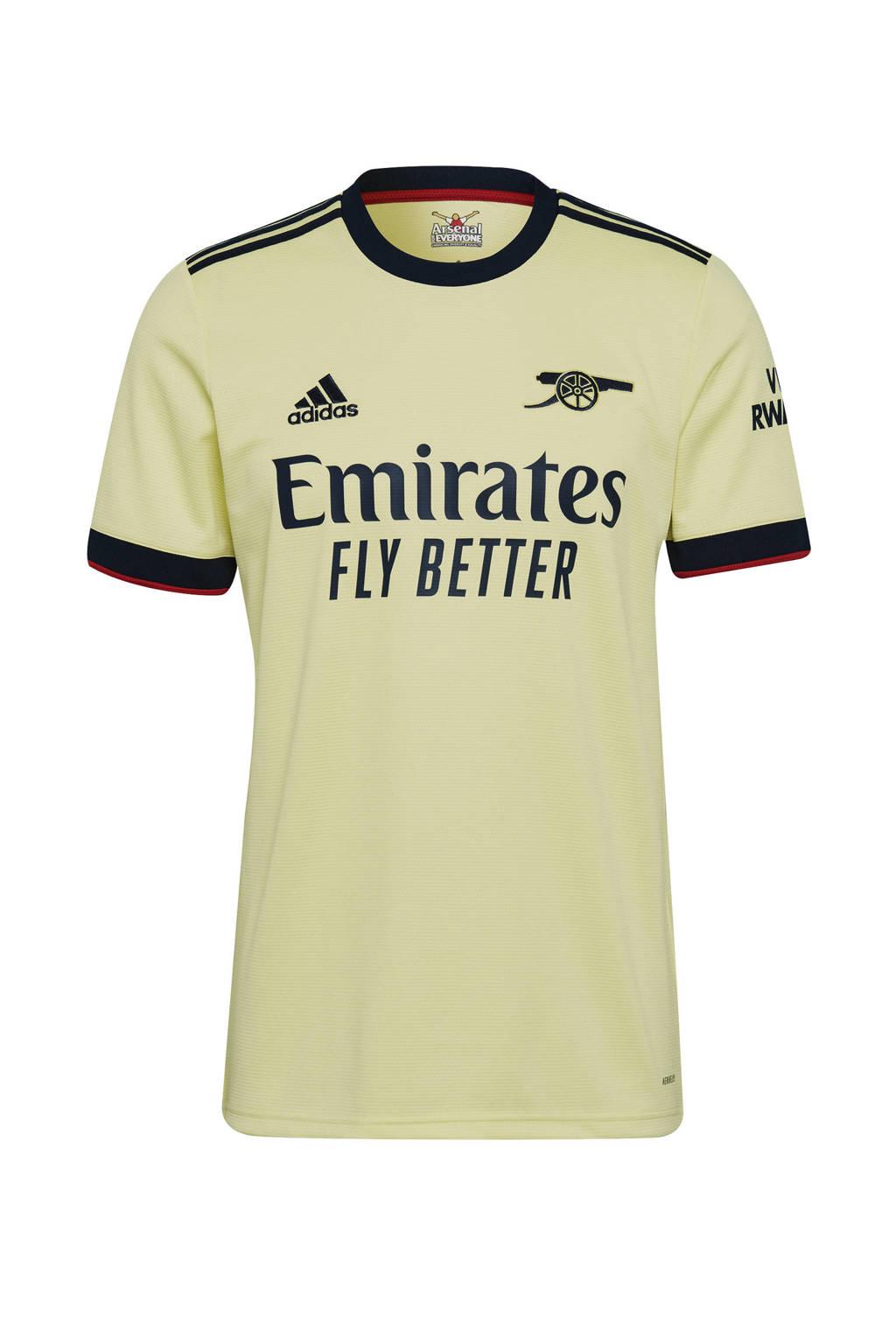 adidas Performance Senior Arsenal FC voetbalshirt uit, Geel