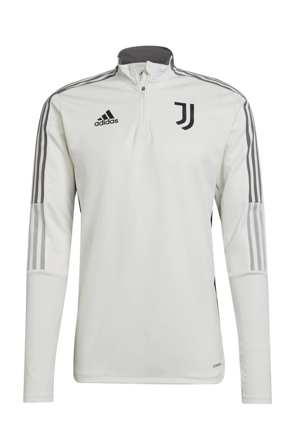 adidas Performance Senior Juventus FC voetbalsweater training, Wit