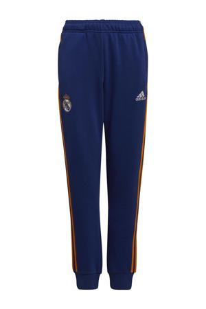 Junior Real Madrid voetbalbroek blauw