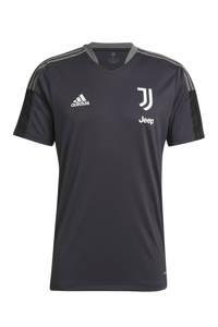 adidas Performance Senior Juventus FC voetbalshirt training, Donkergrijs