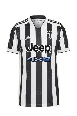 Senior Juventus FC voetbalshirt thuis wit/zwart