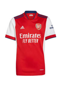 adidas Performance Junior Arsenal FC voetbalshirt thuis, Wit/rood