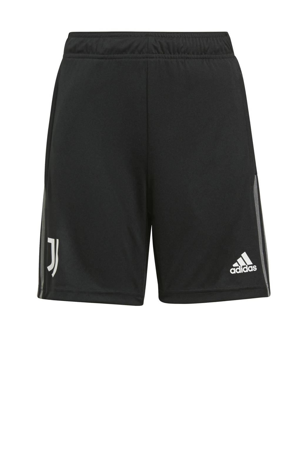 adidas Performance Junior Juventus FC voetbalshort training zwart, Zwart