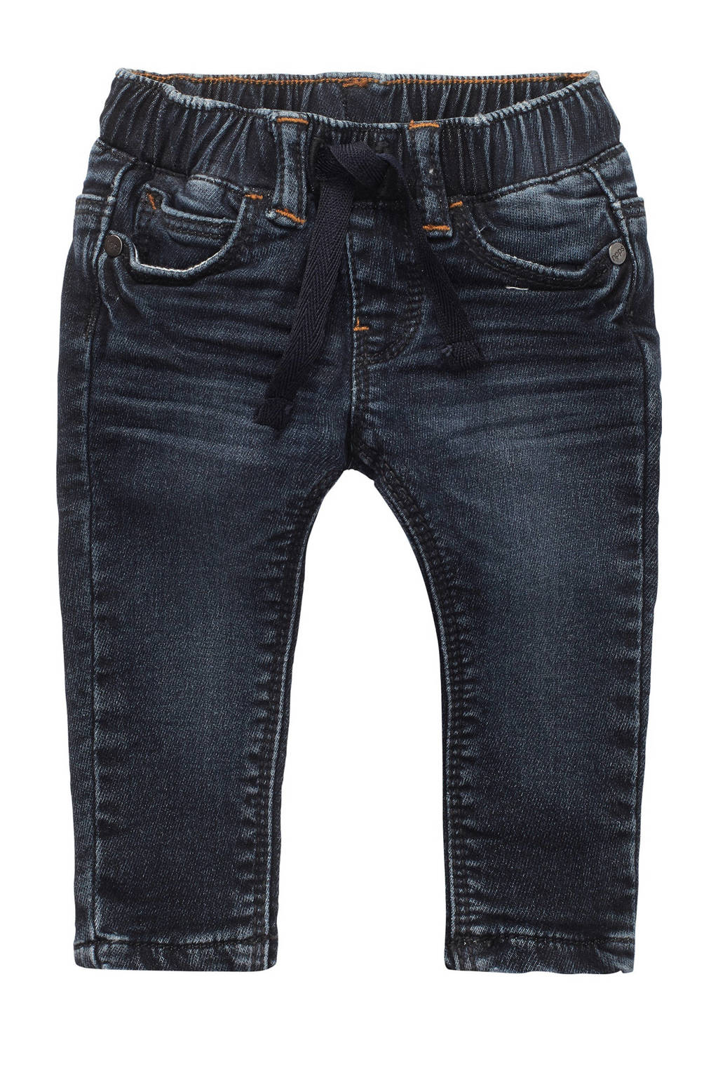 Noppies baby regular fit jeans donkerblauw, Donkerblauw