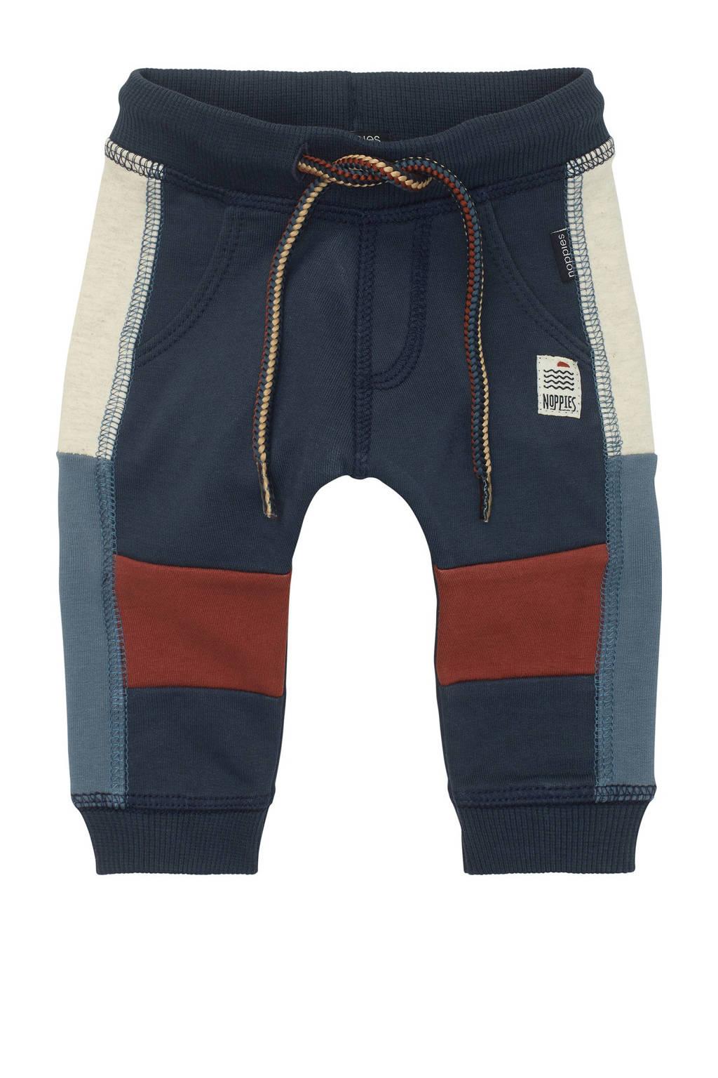 Noppies baby regular fit broek Rochdale donkerblauw, Donkerblauw