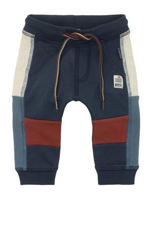 baby regular fit broek Rochdale donkerblauw