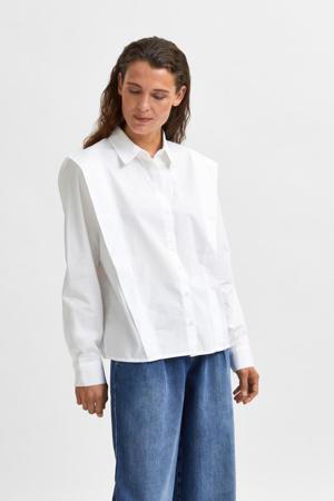blouse SLFBELLO wit