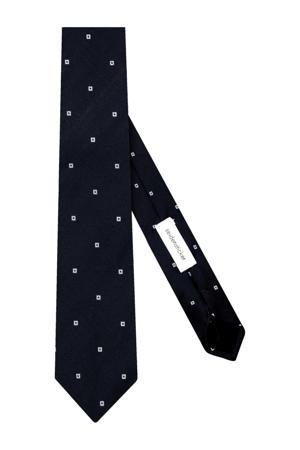 zijden stropdas zwart