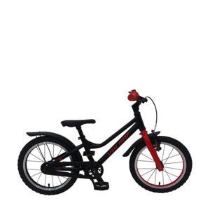 Blaster kinderfiets 16 inch Zwart/ Rood