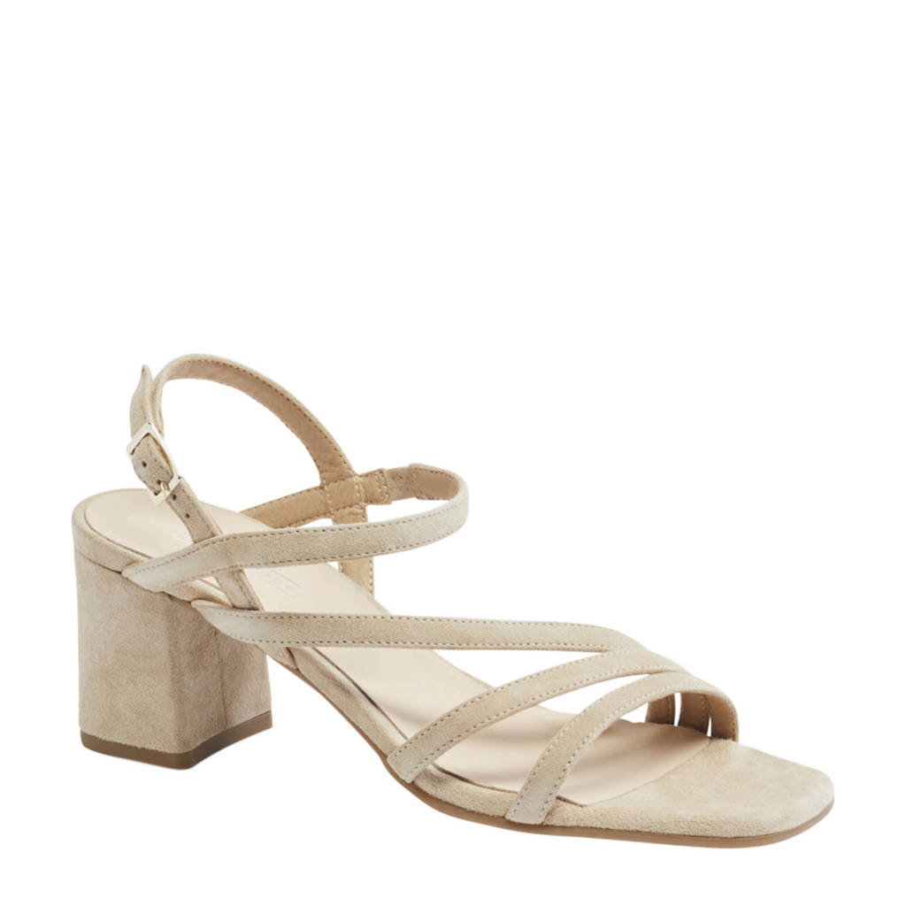 5th Avenue   suède sandalettes beige, Beige/Crème