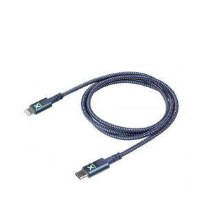 telefoonkabel USB-C naar Lightning 1 meter (Blauw)