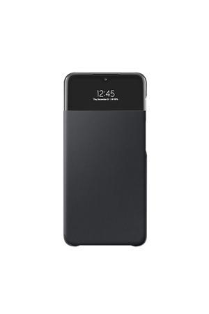 telefoonhoesje A32 5G Wallet Cover + View (Zwart)