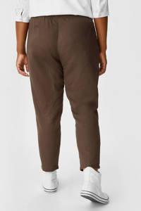 C&A XL Yessica cropped wide leg broek donkerbruin, Donkerbruin