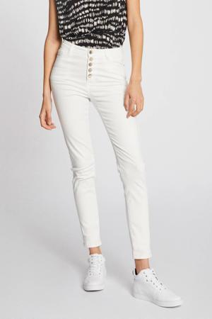 cropped slim fit jeans ecru