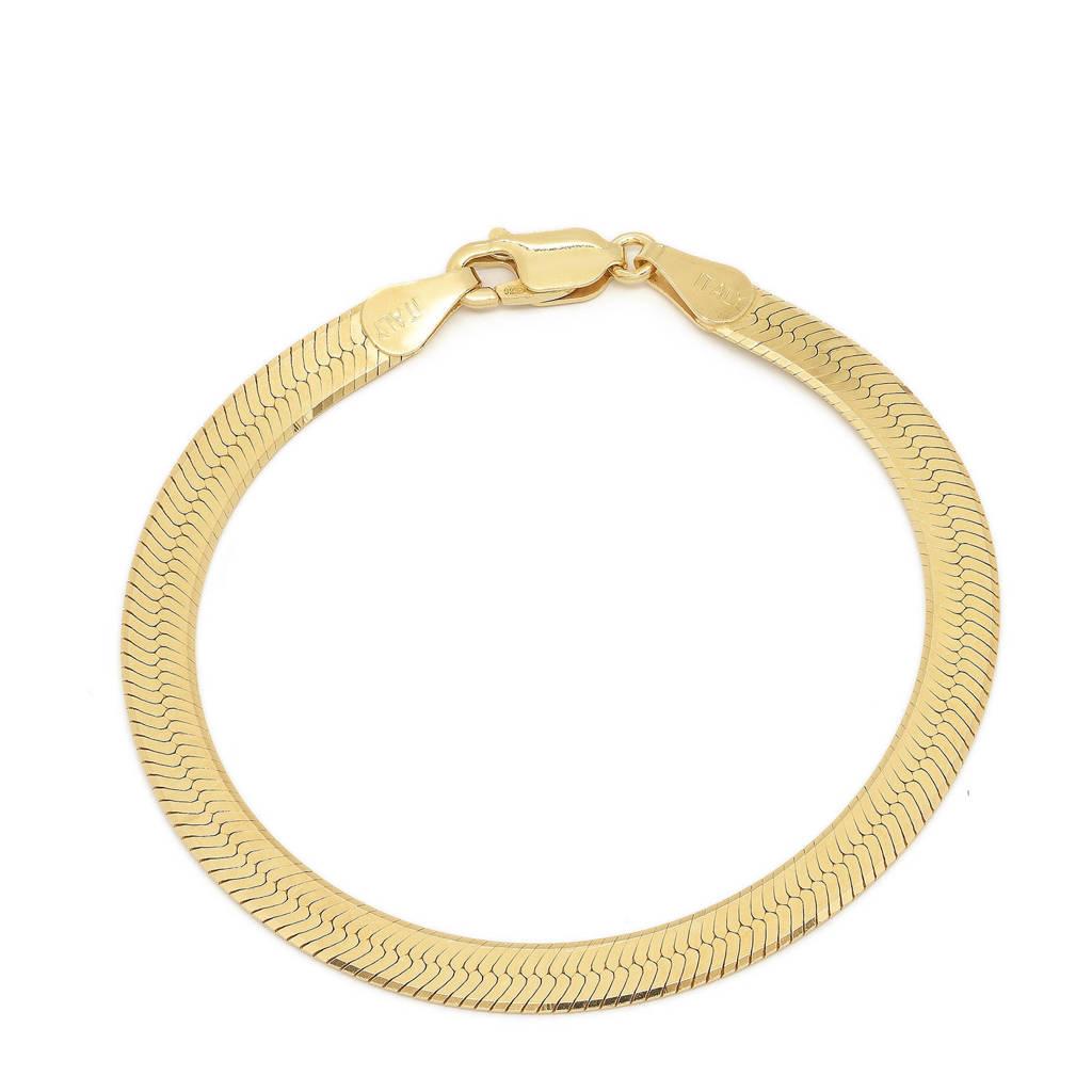 Abrazi verguld zilveren armband Magic, Goudkleurig