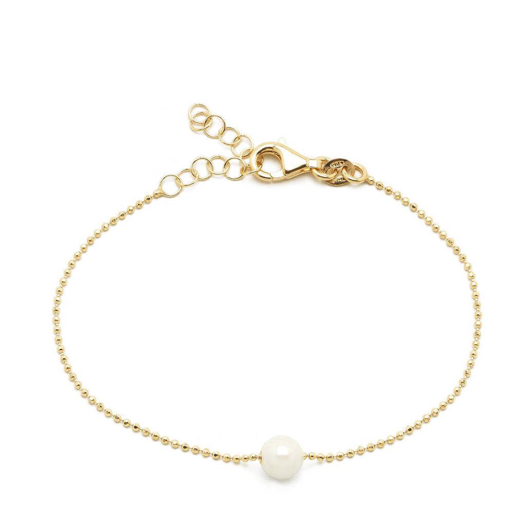 Abrazi verguld zilveren armband Jess, Goudkleurig