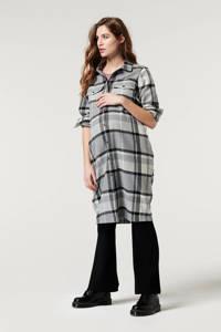Supermom geruite jas zwart/wit/grijs, Zwart/wit/grijs