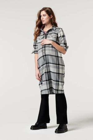 geruite jas zwart/wit/grijs
