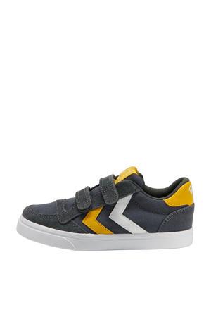 Stadil Low Jr.  sneakers antraciet/geel