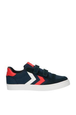 Stadil Low Jr.  sneakers donkerblauw/rood/wit