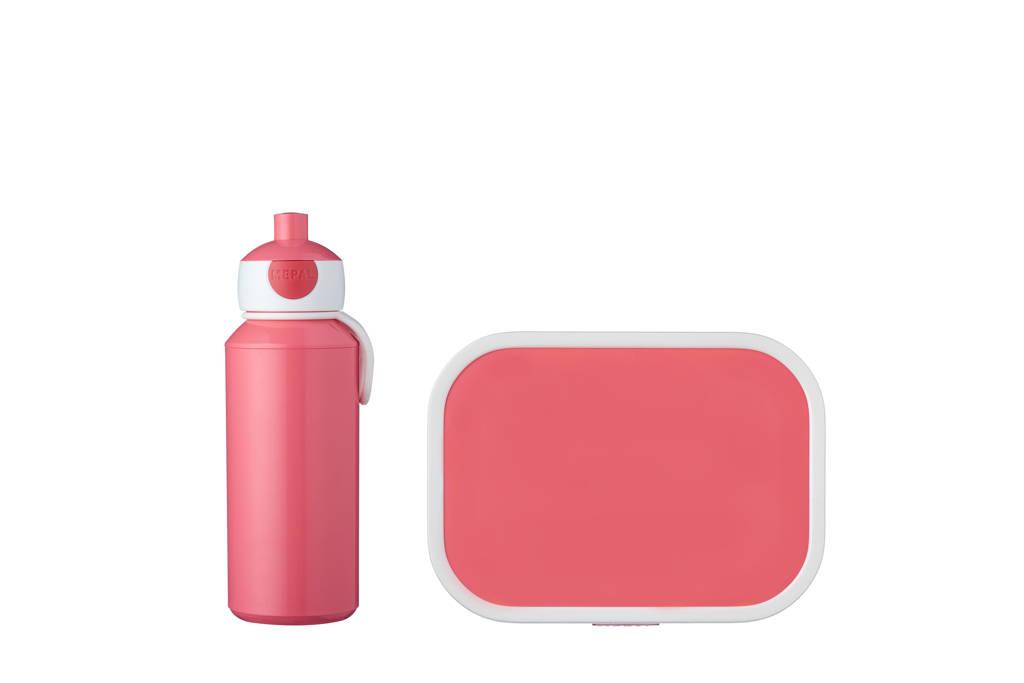 Mepal campus broodtrommel pink, Roze