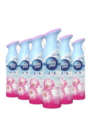 Vleugje Bloesem luchtverfrisser spray - 6 x 300 ml