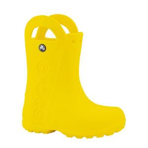 Handle It  regenlaarzen geel kids