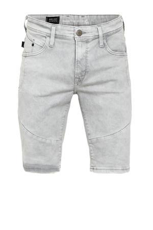 regular fit jeans short grijs