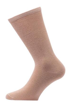 lurex sokken oranje