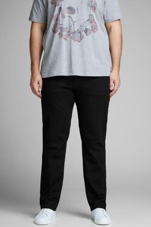 slim fit jeans JJITIM JJORIGINAL Plus Size zwart