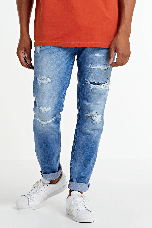 JACK & JONES PLUS SIZE skinny fit jeans Liam blue denim, Blue denim