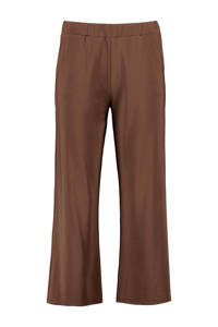 Expresso cropped straight fit culotte GEMMA roodbruin, Roodbruin