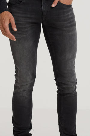 tapered fit jeans Ozzy zwart