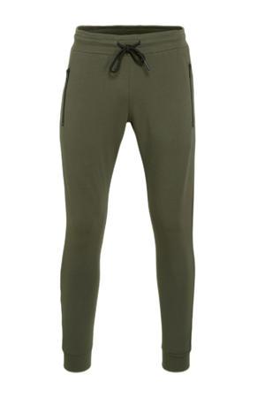 slim fit joggingbroek green