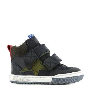 EF21W038-A  hoge sneakers donkerblauw